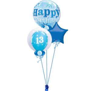 Blue Age 13 Bubble Bunch