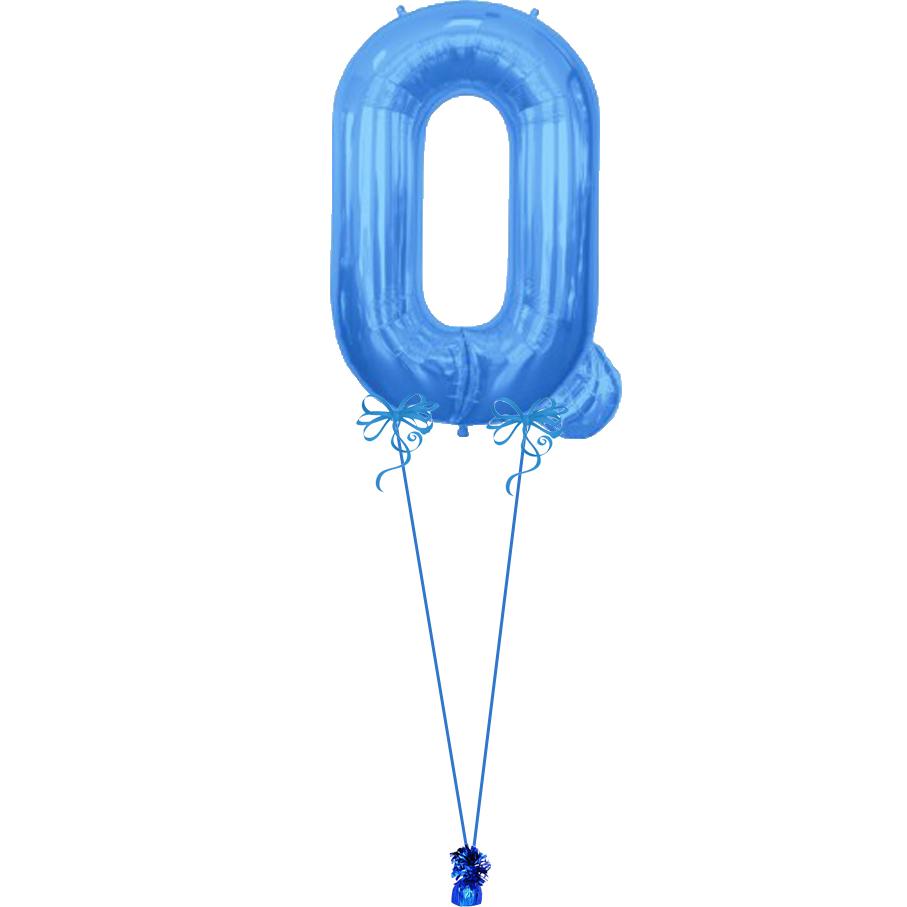Giant letter q magic balloons for Giant letter balloons