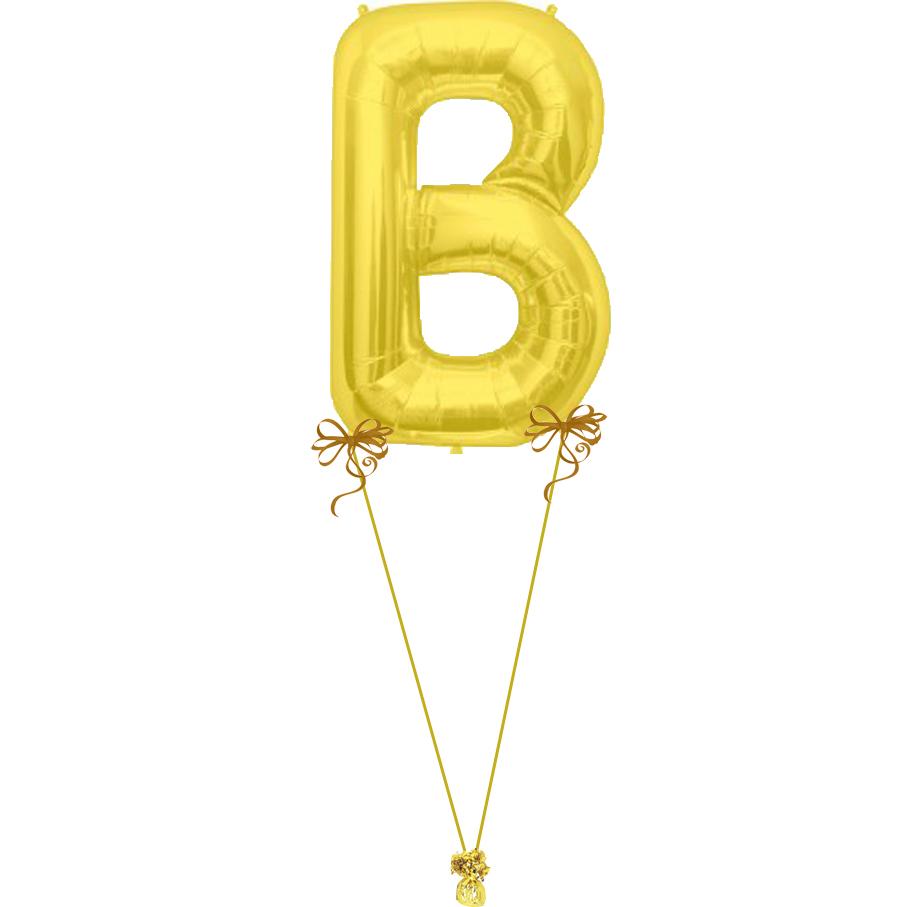 Giant letter b magic balloons for Giant letter balloons