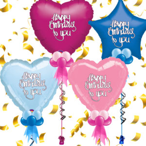 Personalised Foil Birthday Balloons