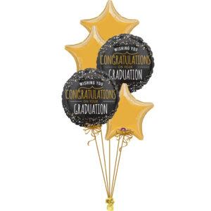 Starry Congrats Graduation Foil Bunch